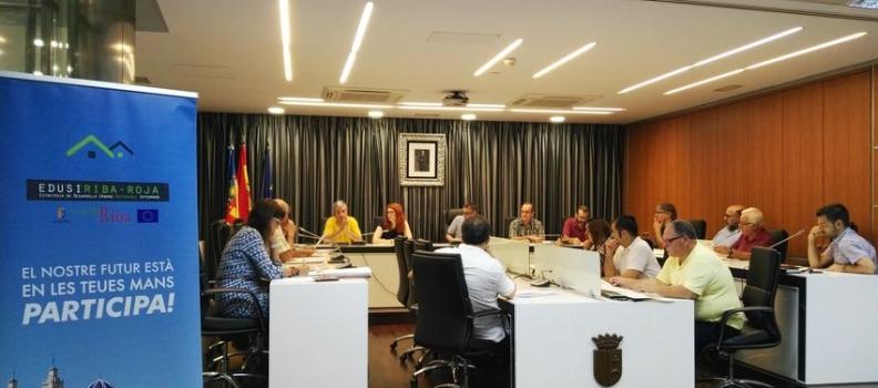 Associacions i col·lectius participaran en un projecte de desenrotllament urbà sostenible de futur per a Riba-roja